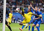 LUBLIN, POLAND - 2017-06-22: Carlos Strandberg under UEFA U21 matchen mellan Slovakien och Sverige p&aring;  Arena Lublin den 22 juni, 2017 i Lublin, Polen. <br /> Foto: Nils Petter Nilsson/Ombrello<br /> Fri anv&auml;ndning f&ouml;r kunder som k&ouml;pt U21-paketet.<br /> Annars Betalbild.<br /> ***BETALBILD***