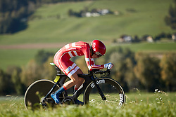 Cecilie Uttrup Ludwig (DEN) at UCI Road World Championships 2018 - Elite Women's ITT, a 27.7 km individual time trial in Innsbruck, Austria on September 25, 2018. Photo by Chris Auld/velofocus.com