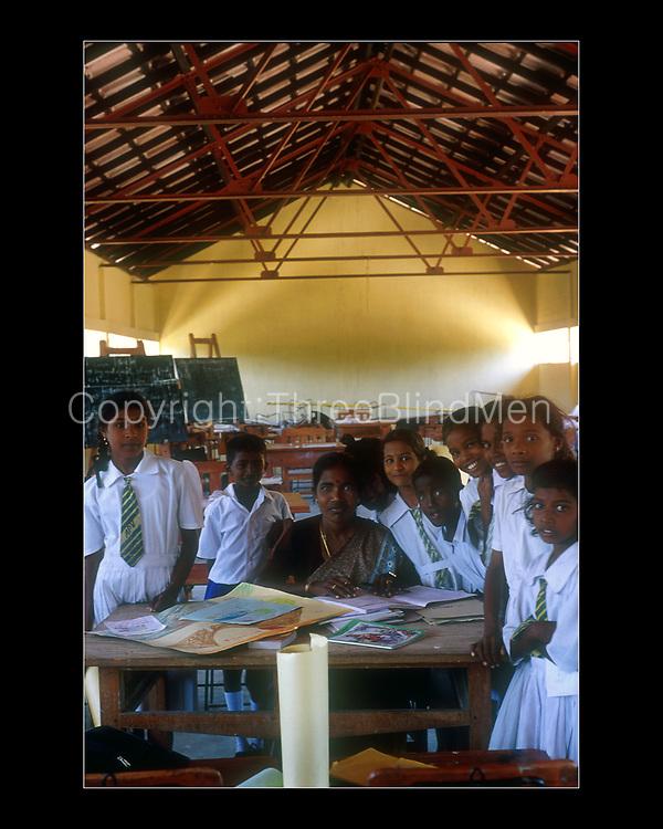 Sri Lanka.<br />School built by GTZ, furniture supplied by them too.<br />Jaffna.<br />March 2002