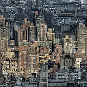High building density in the Upper East Side of New York.