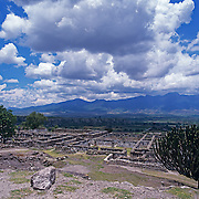 Mixtec ruins of Yagul  outside Oaxaca. Mexico.