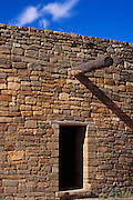Doorway at the Great Kiva, Aztec Ruins National Monument, New Mexico USA