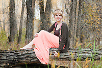 This young ladies photos were taken at the Colorado river in Hot Sulphur Springs.  I love her choice of outfit as she seemed to be a part of her surroundings. Almost like a fairy in the woods!