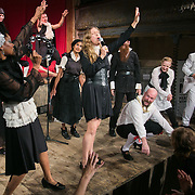Faster, Monsanto! Die! Die!<br /> Reverend Billy and The Stop Shopping Choir at the Wilton Music Hall in London.