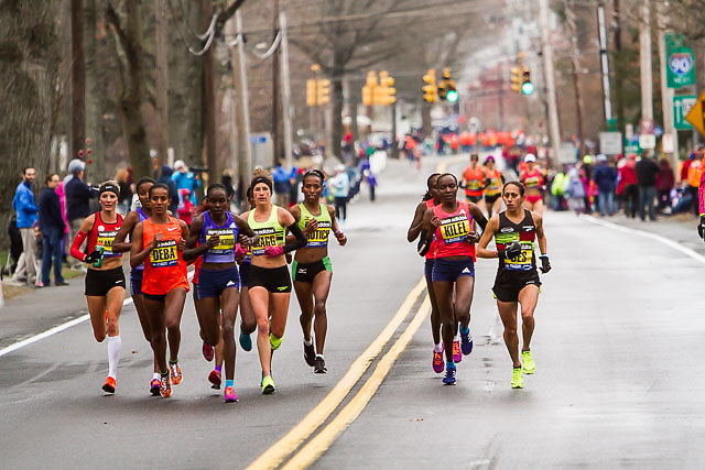 elite women race through Framingham