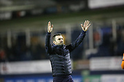 Luton Town Manager Nathan Jones celebrates at full time during the EFL Sky Bet League 1 match between Luton Town and Burton Albion at Kenilworth Road, Luton, England on 22 December 2018.