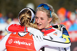 Stina Nilsson Sweden and Kathrine Rolsted Harsem of Norway during 1.2 km Sprint Classic race at FIS Cross Country World Cup Planica 2018, on January 20, 2018 at Planica, Slovenia. Photo By Morgan Kristan / Sportida