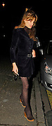 22.03.2007. LONDON<br /> <br /> JEMIMA KHAN AND FRIENDS LEAVING LOCANDA LOCATELLI RESTURANT IN MAYFAIR, LONDON, UK.<br /> 