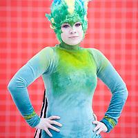Londra,UK - 26 Maggio 2013: Minessa Jumppanen dalla Finlandia travestita da Tooth Fairy dal film Rise of the guardians, posa per un ritratto durante il London Comic Con 2013. La convention è il più importante appuntamento annuale in Gran Bretagna per migliaia di fans di film, serie tv, videogames, anime e fumetti e tutto quello che riguarda la cultura pop.