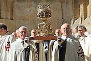 La sainte couronne d'épines à Poissy.