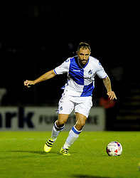 Peter Hartley of Bristol Rovers - Mandatory by-line: Neil Brookman/JMP - 11/08/2016 - FOOTBALL - Memorial Stadium - Bristol, England - Bristol Rovers v Cardiff City - EFL League Cup