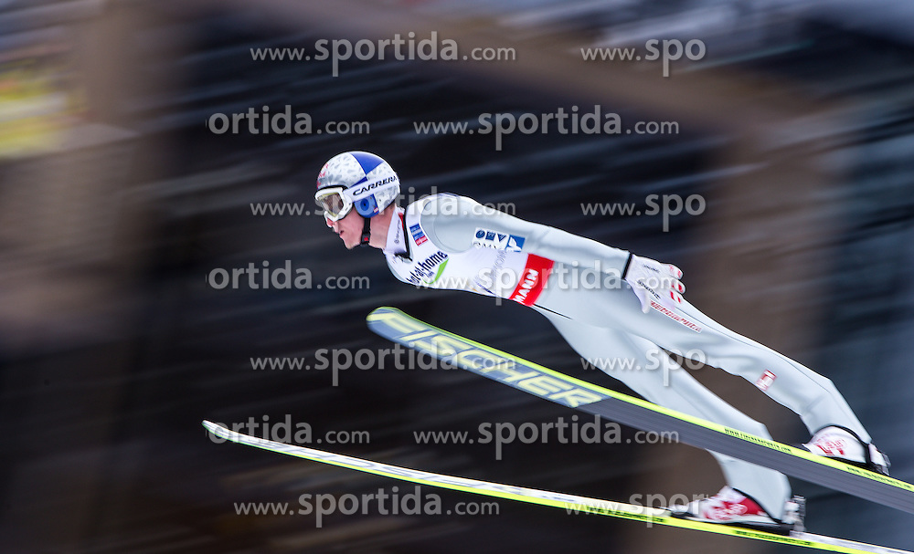 23.02.2013, Skisprungstadion, Predazzo, ITA, FIS Weltmeisterschaften Ski Nordisch, Skisprung Herren, HS 106, im Bild Thomas Morgenstern (AUT) // Thomas Morgenstern of Austria during the Mens HS 106 Skijump competition of the FIS Nordic Ski World Championships 2013 at the Skijumping Stadium, Predazzo, Italy on 2013/02/23. EXPA Pictures © 2013, PhotoCredit: EXPA/ Juergen Feichter