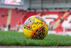 An official EFL Mitre match ball - Mandatory by-line: Ryan Crockett/JMP - 20/01/2018 - FOOTBALL - Aesseal New York Stadium - Rotherham, England - Rotherham United v Portsmouth - Sky Bet League One