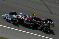 Danica patrick at the Kansas Speedway, Kansas Indy 300, July 3, 2005