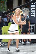 Aug. 24, 2015 - New York, NY, USA - <br /> <br /> Nike NYC Street Tennis Event <br /> <br /> Tennis player Maria Sharapova attending Nike's 'NYC Street Tennis' Event<br /> ©Exclusivepix Media