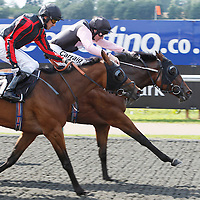 Alexandrakollontai and Liam Keniry winning the 2.50 race