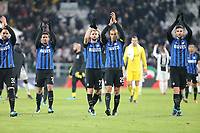 09.12.2017 - Torino - Serie A 2017/18 - 16a giornata  -  Juventus-Inter nella  foto:  l'esultanza dei giocatori dell' Inter a fine partita