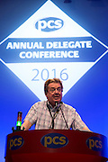 The 2016 PCS Annual Delegate Conference (ADC). Brighton, UK.