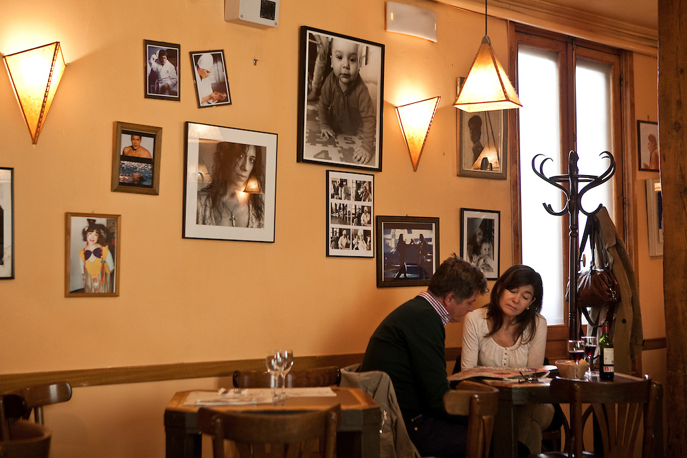 Tapas at La Bardemcilla, restaurant owned by the Bardem family in Madrid, Spain.