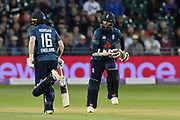 Moeen Ali of England batting during the third Royal London One Day International match between England and Pakistan at the Bristol County Ground, Bristol, United Kingdom on 14 May 2019.