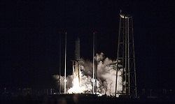 November 17, 2018 - Wallops Island, Virginia, U.S. - NASA successfully launched an Antares rocket in a scientific mission and replenishment to the International Space Station from the port Atlantic regional spatial survey of Wallops in eastern Virginia. (Credit Image: © NASA/ZUMA Wire/ZUMAPRESS.com)