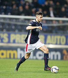Falkirk's Kieran Duffie.<br /> Falkirk 1 v 0 Cowdenbeath, William Hill Scottish Cup game played 29/11/2014 at The Falkirk Stadium.