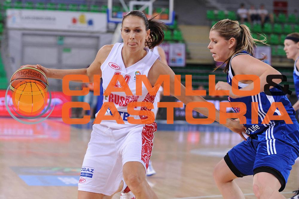 DESCRIZIONE : Bydgoszcz Poland Polonia Eurobasket Women 2011 Round 2 Russia Gran Bretagna Russia Great Britain<br /> GIOCATORE : Svetlana Abrosimova<br /> SQUADRA : Russia Russia<br /> EVENTO : Eurobasket Women 2011 Campionati Europei Donne 2011<br /> GARA : Russia Gran Bretagna Russia Great Britain<br /> DATA : 27/06/2011 <br /> CATEGORIA : <br /> SPORT : Pallacanestro <br /> AUTORE : Agenzia Ciamillo-Castoria/M.Marchi<br /> Galleria : Eurobasket Women 2011<br /> Fotonotizia : Bydgoszcz Poland Polonia Eurobasket Women 2011 Round 2 Russia Gran Bretagna Russia Great Britain<br /> Predefinita :