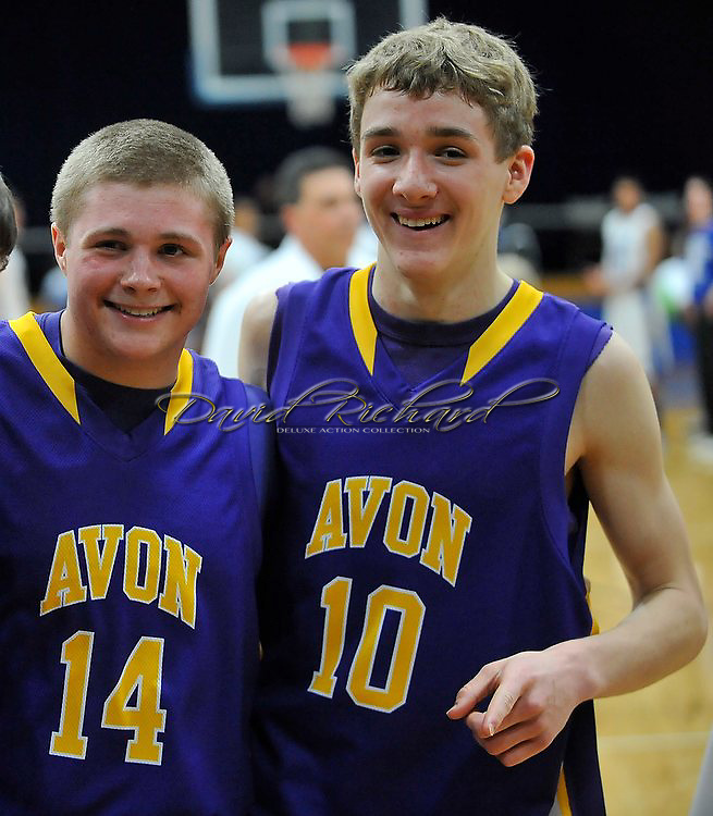 Avon at Midview boys varsity basketball on February 24, 2012.