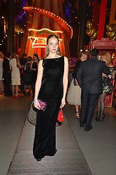 PETRA PALUMBO at 'The World's First Fabulous Fund Fair' in aid of the Naked Heart Foundation hosted by Natalia Vodianova and Karlie Kloss at The Roundhouse, Chalk Farm Road, London on 24th February 2015.