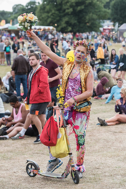 The 2017 Latitude Festival, Henham Park. Suffolk 14 July 2017