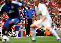 Photo: Richard Lane/Richard Lane Photography. SV Hamburg v Real Madrid. Emirates Cup. 02/08/2008. Hamburg manager, Martin Jol.