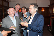 JAKE MILLER; MARK HIX, Rocco Forte's Brown's Hotel Hosts 175th Anniversary Party, Browns Hotel. Albermarle St. London. 16 May 2013