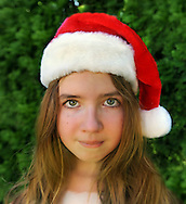 Santa Girl Portrait (MR)
