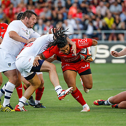 Ma'a Nonu of Toulon during the pre-season match between Rc Toulon and Clermont Auvergne at Felix Mayol Stadium on August 11, 2017 in Toulon, France. (Photo by Guillaume Ruoppolo/Icon Sport)