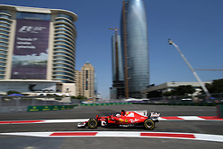 June 23, 2017 - Baku, Azerbaijan - Motorsports: FIA Formula One World Championship 2017, Grand Prix of Europe, .#5 Sebastian Vettel (GER, Scuderia Ferrari) (Credit Image: © Hoch Zwei via ZUMA Wire)