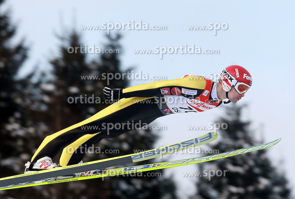 23.02.2011, Hollmenkollen, Oslo, NOR, FIS Nordische Ski Weltmeisterschaft 2011, Training Ski Sprung, im Bild MATTI HAUTAMAEKI during Training ski Jump at Fis Nordic World Ski Championships in Oslo Norway at 23/2/2011. EXPA Pictures © 2011, PhotoCredit: EXPA/ Newspix/ Jerzy Kleszcz +++++ ATTENTION - FOR AUSTRIA/ AUT, SLOVENIA/ SLO, SERBIA/ SRB, CROATIA/ CRO, SWISS/ SUI and SWEDEN/ SWE CLIENT ONLY +++++