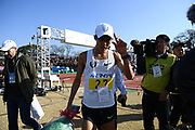 Suguru Osako (JPN) places third in 2:07:19 during the 2017 Fukuoka Marathon in Fukuoka, Japan on Sunday, Dec. 3, 2017.  (Kazuaki Matsunaga/ Image of Sport)