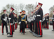 Prince Charles, Prince of Wales represents Her Majesty The Queen at the Sovereign's Parade at Royal Military Academy Sandhurst