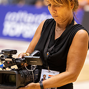 NLD/Rotterdam/20190706 - BN'ers spelen rolstoelbasketbal, Nada van Nie