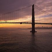 Golden Gate Bridge, Sunrise, San Francisco, California
