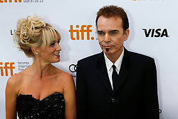 Actress KATHERINE LANASA and Filmmaker/Actor BILLY BOB THORNTON at the 'Jayne Mansfield's Car' Premiere during the 2012 Toronto International Film Festival at Roy Thomson Hall, September 13th 2012. Photo by David Tabor/ i-Images.