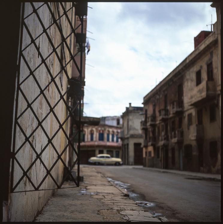 Deserted Street, Havana, Cuba
