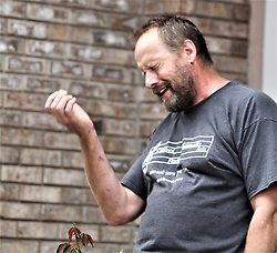 Eric Paddock, brother of Las Vegas mass murderer Stephen Paddock seen outside his Orlando Florida home. 02 Oct 2017 Pictured: Eric Paddock, brother of Las Vegas mass murderer Stephen Paddock seen outside his Orlando Florida home. Photo credit: MEGA TheMegaAgency.com +1 888 505 6342