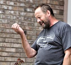 Eric Paddock, brother of Las Vegas mass murderer Stephen Paddock seen outside his Orlando Florida home. 02 Oct 2017 Pictured: Eric Paddock, brother of Las Vegas mass murderer Stephen Paddock seen outside his Orlando Florida home. Photo credit: MEGA TheMegaAgency.com +1 888 505 6342