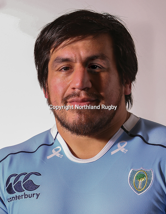 Matais Navaez. Headshots of the Northland ITM Cup rugby union team for the 2015 season.