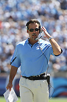 September 12,2010: Tennessee head coach Jeff Fisher during the game against the Oakland Raiders at LP Field in Nashville, Tennessee. The Titans defeated the Raiders 38 to 13.