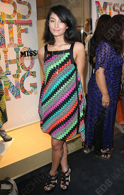29.JUNE.2011. LONDON<br /> <br /> YASMIN AT THE MISSONI FOUNDATION AT NEW BOND STREET IN LONDON<br /> <br /> BYLINE: EDBIMAGEARCHIVE.COM<br /> <br /> *THIS IMAGE IS STRICTLY FOR UK NEWSPAPERS AND MAGAZINES ONLY*<br /> *FOR WORLD WIDE SALES AND WEB USE PLEASE CONTACT EDBIMAGEARCHIVE - 0208 954 5968*