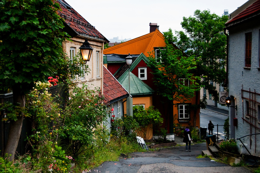 houses old city Oslo