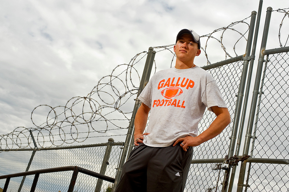 072310       Brian Leddy.Cyle Balok is Gallup High School's newest head football coach. The 24-year-old hails from Gallup.