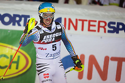 "Felix Neureuther (GER) during FIS Alpine Ski World Cup 2016/17 Men's Slalom race named ""Snow Queen Trophy 2017"", on January 5, 2017 in Course Crveni Spust at Sljeme hill, Zagreb, Croatia. Photo by Ziga Zupan / Sportida"